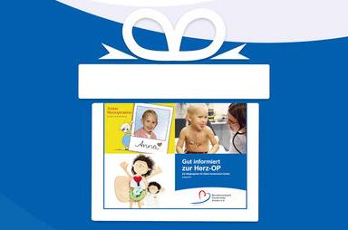 Mut-mach-Pakete für herzkranke Kinder