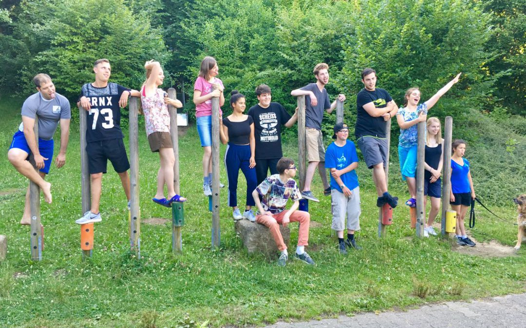 Abenteuercamp in Hübingen 7.-9.7.2017
