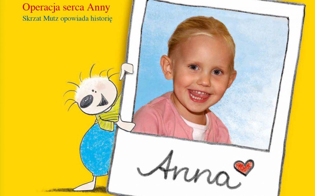 Kinderbuch Annas Herzoperation – Polnisch