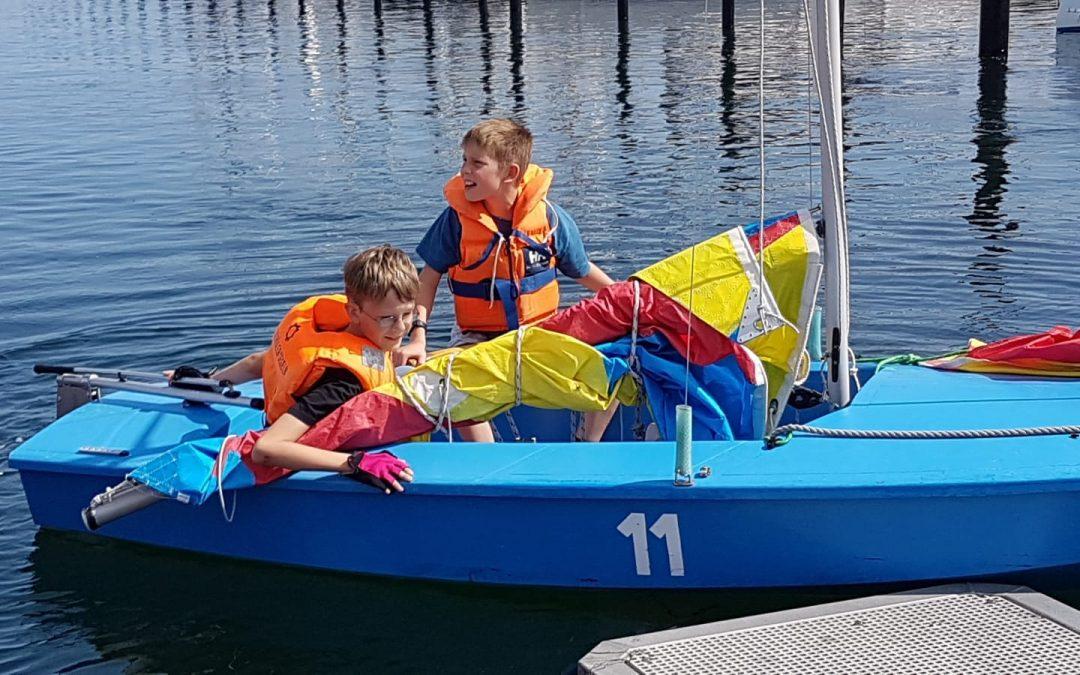 Segelwoche – Sommer und Wind, coole Stimmung: Segeln rockt!