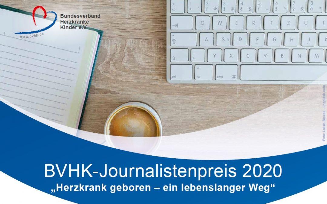 BVHK-Journalistenpreis 2020