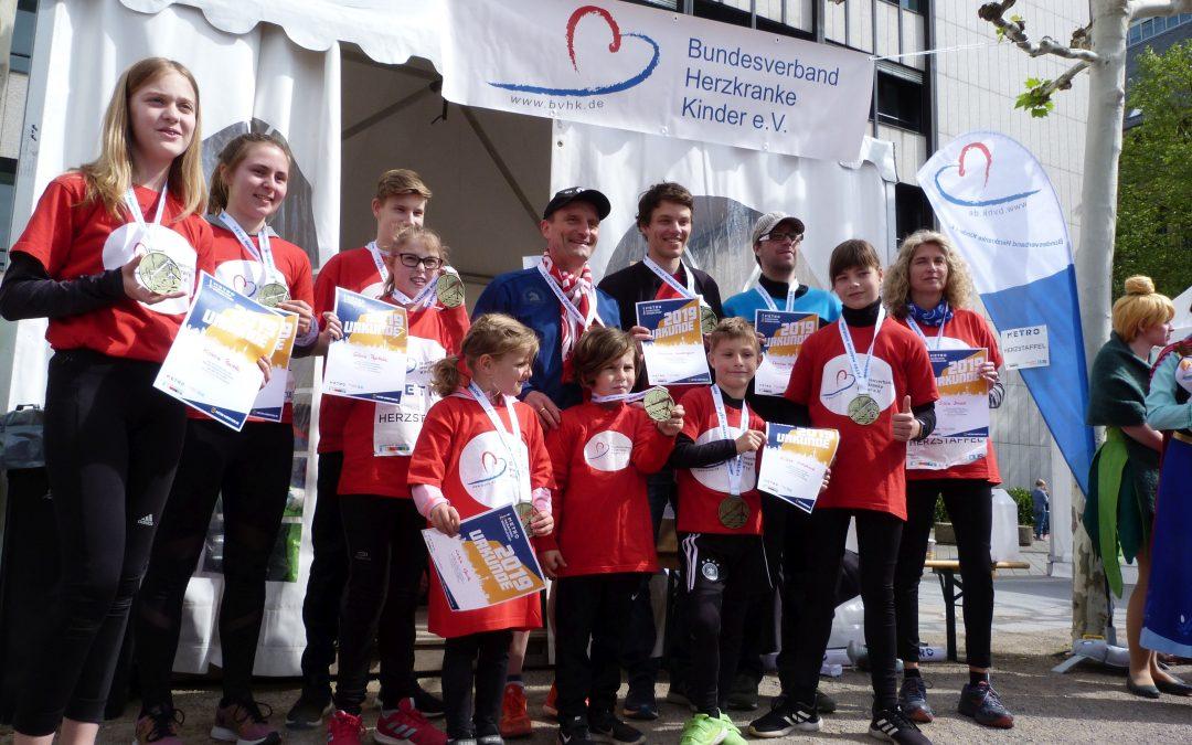 Marathon-Staffellauf, 28.04.2019 in Düsseldorf