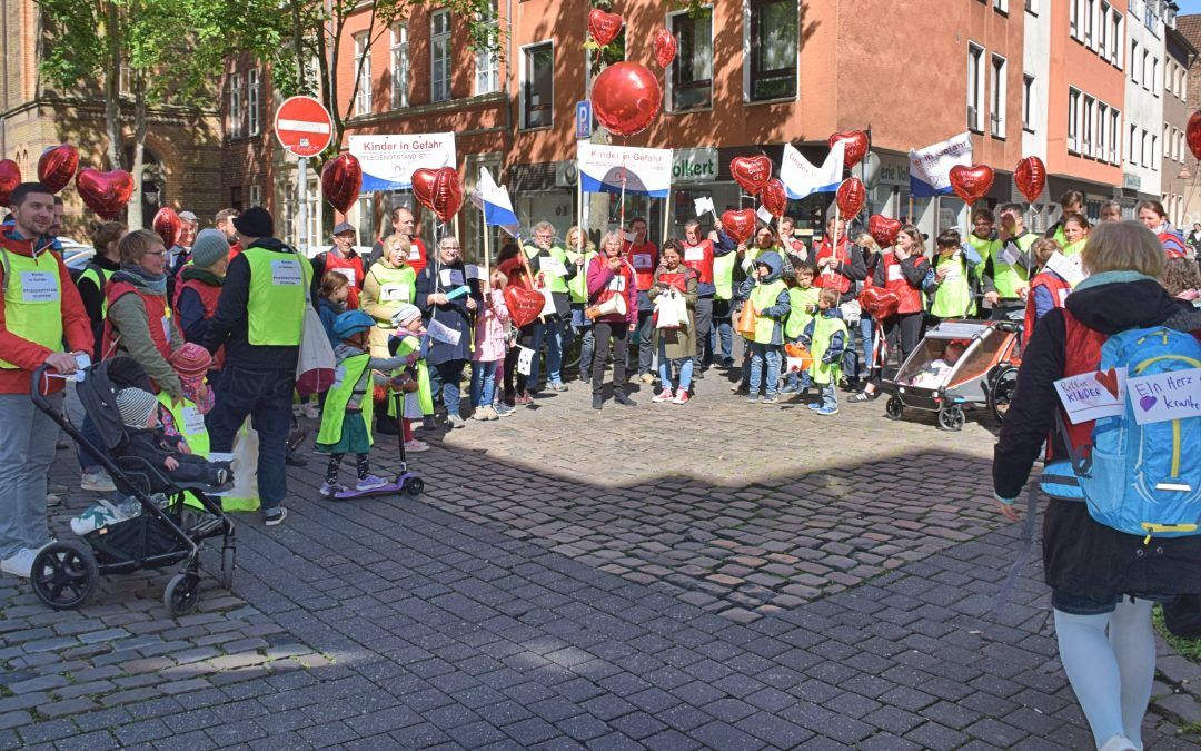 "Demonstration ""Kinder in Gefahr – Pflegenotstand stoppen!"""