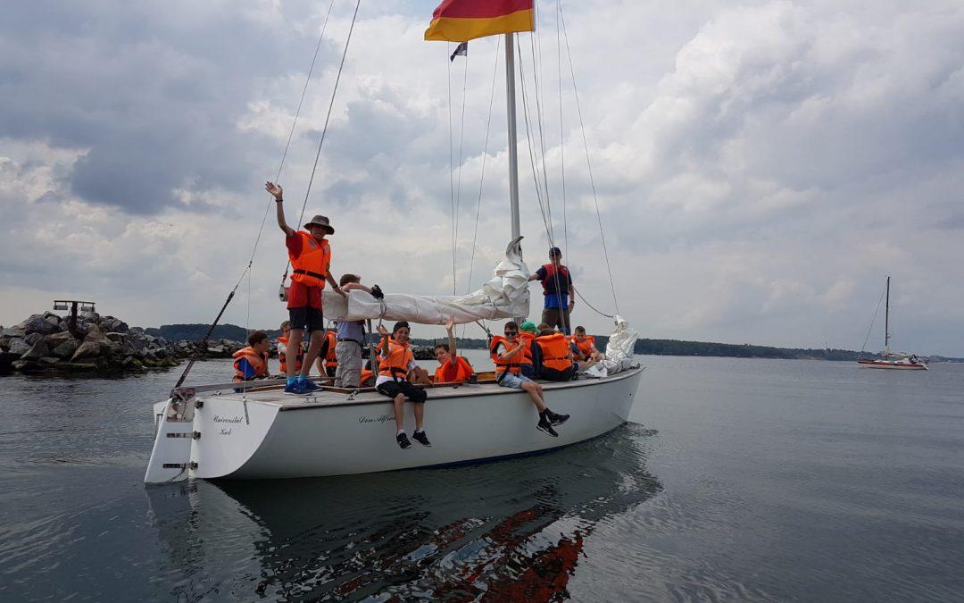 Segelwoche 2019 – Sommer, Wind und coole Stimmung: Segeln rockt!