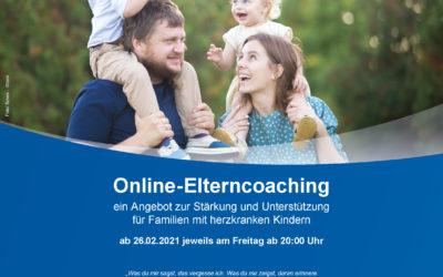 Online Coaching für Familien mit Herzkindern- Anmeldung ab sofort möglich!