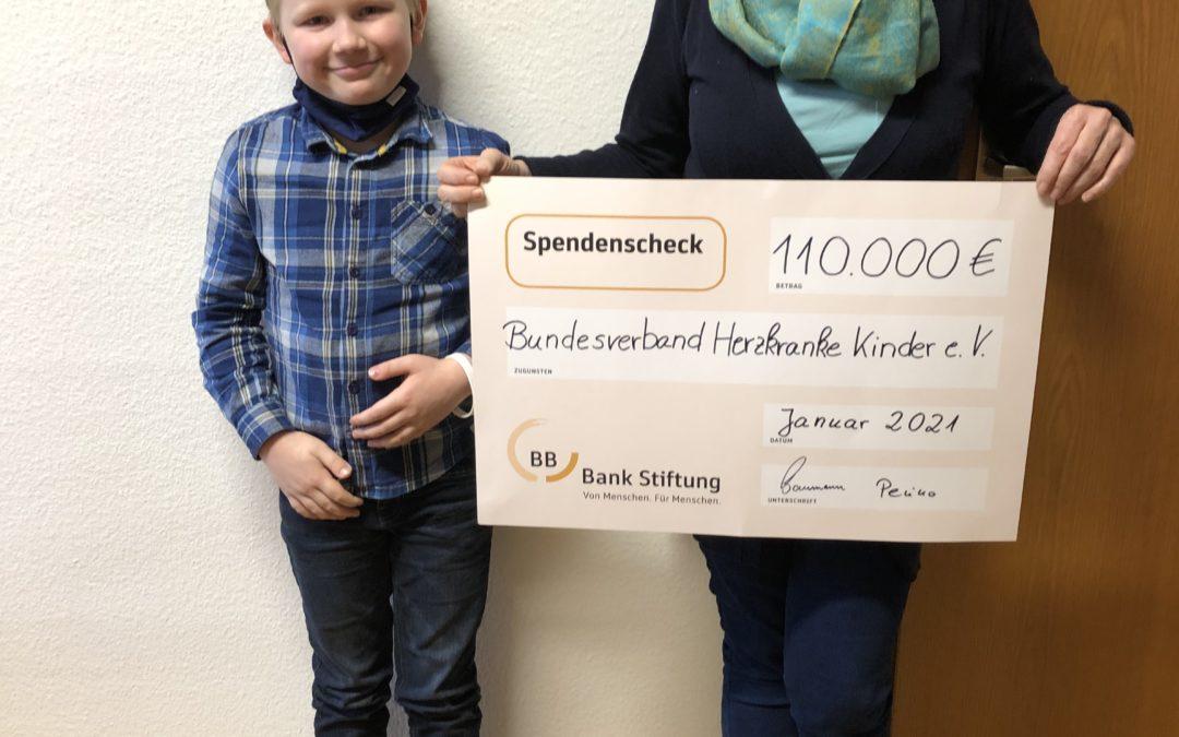 Spende der BBBank Stiftung