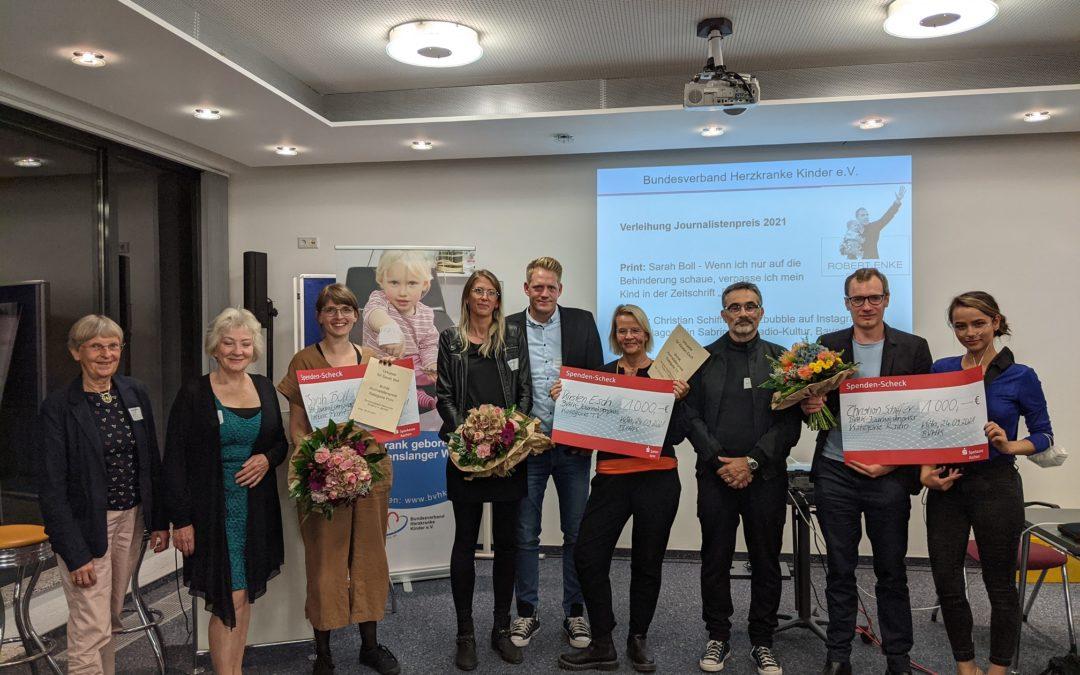 Preisverleihung des BVHK Journalistenpreises 2021